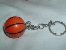 Vintage Celluloid Basketball Keychain Key Ring in Gift Box