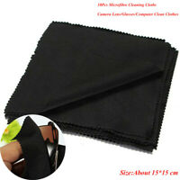 10Pcs Microfibre synthetic fabric 15X15CM Cleaner Clothes Wipe Clean