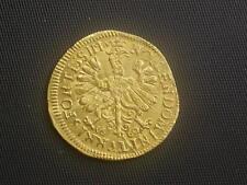originaler Dukat 1660 Frankfurt - German States   W/18/757