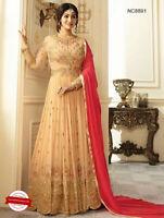 Indian Designer Salwar Kameez Suit ethnic Anarkali Dress Pakistani Party Wear UK