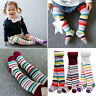 "Vaenait Baby Kids Girls Tights Bottom Trousers Socks 3Set ""Stripe set"" 100-210mm"