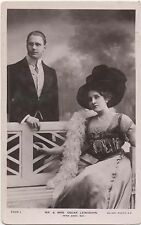 POSTCARD   ACTRESSES  Edna May & Husband