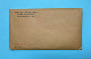 1960 US Silver Proof Coin Set ~ Small Date ~ RARE Unopened Envelope