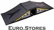 Hudora Skater Ramp Set for Skateboard, Waveboard, Skater Ramp 3pcs, 11116
