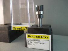 Router Bit-12.7mm Inverted Flush Trim Bit for Hinge Template work (TruaCuT)