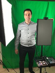 Portable Photo Booth System - DIY KIT (includes frame, shelf, and touchscreen)