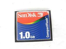 #2 SanDisk 1GB CF Compact Flash Memory Card