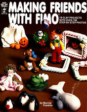 Making Friends With Fimo ~ 19 Fimo Clay Projects ~ Craft Booklet ~ HOTP 186