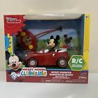 """Disney Junior Remote Control Car Mickey Mouse Clubhouse Roadster 7"""" Ages 3+"""
