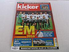 kicker special edition EURO 2016 France, soccer, football, European Championship