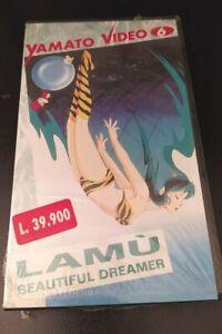 LAMU' BEAUTIFUL DREAMER VHS NUOVA e SIGILLATA MANGA YAMATO VIDEO