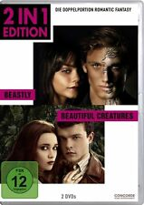 BEASTLY (Alex Pettyfer) + BEAUTIFUL CREATURES (Alice Englert) 2 DVDs NEU+OVP