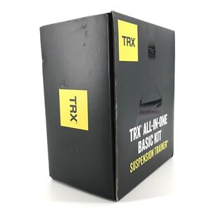 TRX All In One Basic Kit Suspension Trainer Total Body Workout System