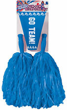 Blue Pom Pom and Megaphone Set Cheerleader Costume Accessory