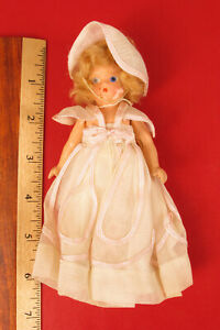 ANTIQUE PATSY COMPOSITION GIRL DOLL IN DRESS BONNET SELLING AT NO RESERVE !!!