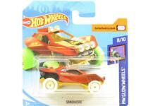 Hot Wheels Sandivore HW Glow Wheels 182/365 Short Card 1 64 Scale Sealed New