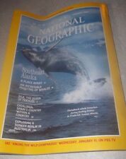 National Geographic January 1984~Southeast Alaska,Silk the Queen of Textiles~VGC