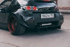 Smart Roadster part tuning Rear Diffuser DTM racing style
