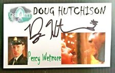 """The Green Mile"" Doug Hutchison ""Percy Wetmore"" Autographed 3X5 Index Card"