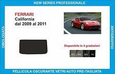 pellicole oscuranti vetri Ferrari California dal 2009-2011 kit lunotto