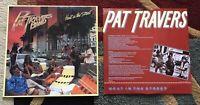 Pat Travers Band – Heat In The Street Vinyl LP Album PD-1-6170