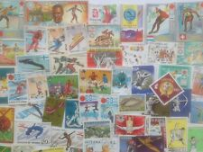 500 Different Olympics on Stamps Collection