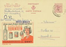 BELGIUM AMANDSBERG (SINT AMANDSBERG now GENT) SC 1966 (Postal Stationery 2 F)