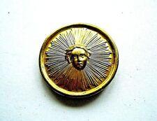 Lentille soleil 3CM balancier a fil clock neuchateloise pendule paris uhr cartel