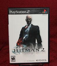 Hitman 2 Silent Assassin PS2 COMPLETE CIB Free Shipping Eidos Io Interactive