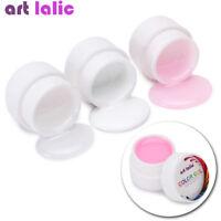 Pink White Clear UV Gel Extend Nail Art Tips Gel Nail Polish Extension Primer