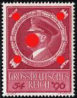 German Reich 887 55. Birthday, Mint