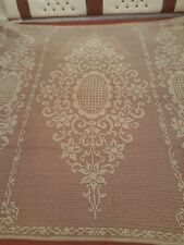 Antique hand made lace bed cover