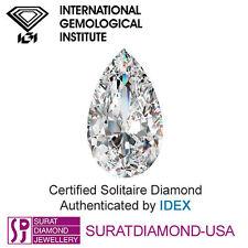 Pear IGI Loose Diamonds