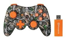 Power A Pro Realtree Wireless Controller ~ (PS3) Orange