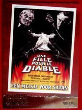 BRITISH HORROR COLLECTION - LEE/ KINSKI, TO THE DEVIL A DAUGHTER - FOIL Card F10