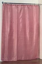 100% Polyester fabric shower curtain liner w/weighted bottom hem 70x72 Rose