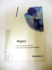 MAGICS - DATA OPTIMIZER SOFTWARE - CNC POST 3D PRINTING CAD CAM + SERIAL #