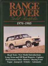 Range Rover Gold Portfolio 1970 - 1985
