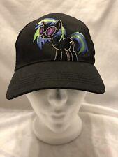 My Little Pony MLP DJ Pon-3 Youth Cap Snapback Hat Hasbro Black