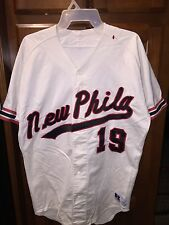 NEW PHILA #19 Russell Athletics Baseball Jersey size 42 NEW PHILA #19