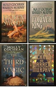 FOREVER KING - Trilogy • Molly Cochran & Warren Murphy - WORLD WITHOUT END too!