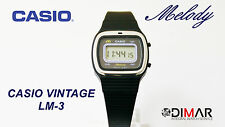 CASIO VINTAGE LM-3 MELODY QW.123 JAPAN. AÑO 1980