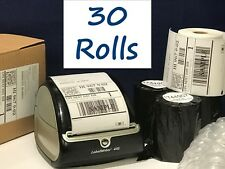 "30 Rolls DYMO 4XL Shipping Labels 1744907 Compatible 4""x6"" - 220/roll 6600 label"