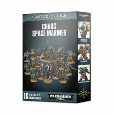 Games Workshop Warhammer 40000 Start Collecting! Chaos Space Marines - 16 Miniature Figures