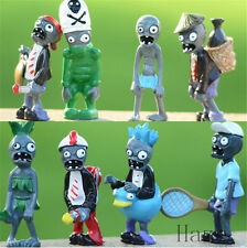 Cool Sale 8pcs Plants vs Zombies 2 PVZ Action Figures Toy Kid PVC Toys Set Gift