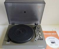 Platine vinyle Hifi Continental Edison TD 9752. Porte cellule+stylus neuf+doc.