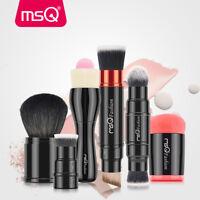 Pro Cosmetic Beauty Makeup Minerals Powder Brush Travel Retractable Kabuki Brush