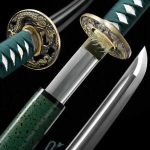 Handmade Japanese Samurai Sword Katana 1095 high Carbon Steel Full Tang sharp