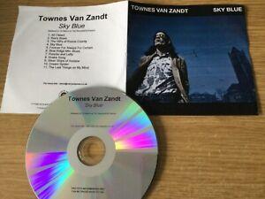 Promotional cd album- Townes Van Zandt – Sky Blue