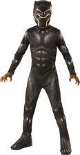 Black Panther Child Boys Costume Size L Large 12-14 NEW